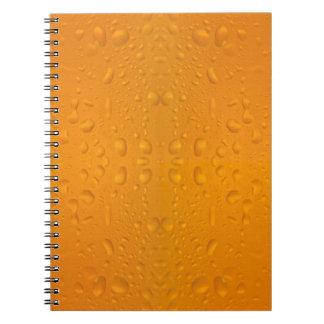 Modelo macro 8868 del vidrio de cerveza cuaderno