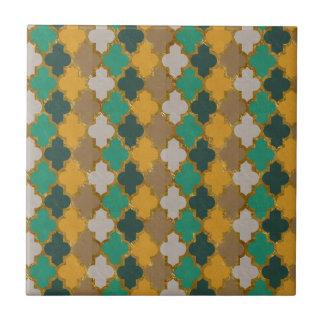 Modelo marroquí azulejo cuadrado pequeño