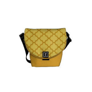 Modelo marroquí de la teja del amarillo de la most bolsas de mensajeria