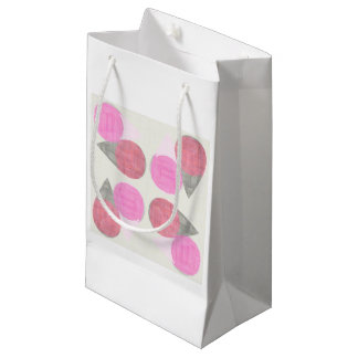 Modelo moderno de la lágrima bolsa de regalo pequeña