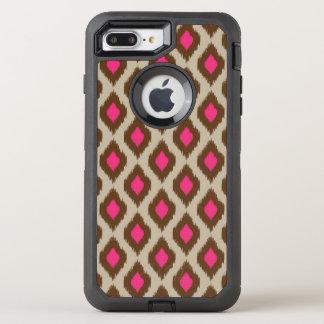 Modelo moderno del ikat funda OtterBox defender para iPhone 7 plus