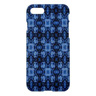modelo moderno del negro azul funda para iPhone 7