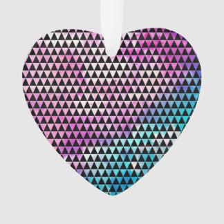 Modelo multicolor abstracto de los triángulos de
