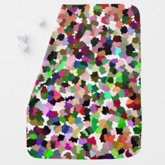 Modelo multicolor brillantemente colorido mantita para bebé