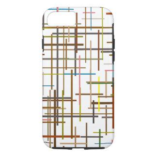 Modelo multicolor de la guarnición de la escalera funda iPhone 7