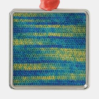 Modelo multicolor de la manta del ganchillo ornatos