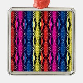 Modelo multicolor de las cadenas. Diseño artístico Ornatos