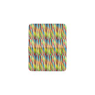 Modelo multicolor de las rayas tarjetero