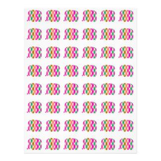 Modelo multicolor de los elefantes. Diseño Tarjetones