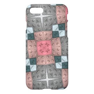 Modelo multicolor del bloque funda para iPhone 7