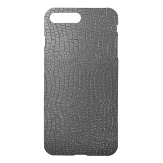 Modelo negro de la mirada de la piel de serpiente funda para iPhone 8 plus/7 plus