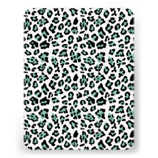 Modelo negro del estampado de animales del leopard anuncio