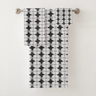Modelo negro y gris de Starbust y del Rhombus