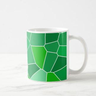 Modelo orgánico moderno fresco taza de café