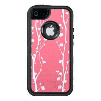 Modelo oriental del flor del ciruelo funda otterbox para iPhone 5/5s/SE