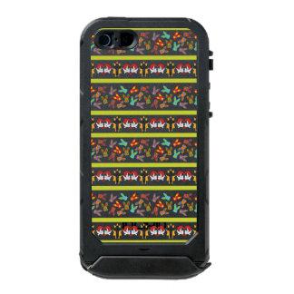 Modelo psico de Pascua colorido Carcasa De Iphone 5 Incipio Atlas Id