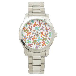 Modelo psico de Pascua colorido Reloj