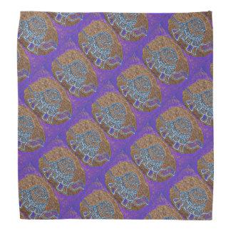 Modelo púrpura de la tortuga bandana