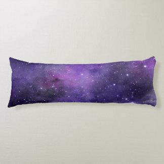 Modelo púrpura del espacio de la acuarela