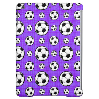 Modelo púrpura y blanco del balón de fútbol