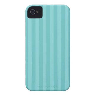 Modelo rayado de la raya de las rayas azules de la Case-Mate iPhone 4 protectores