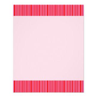 Modelo rayado rosado tarjeta publicitaria