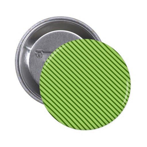 Modelo rayado verde múltiple pin