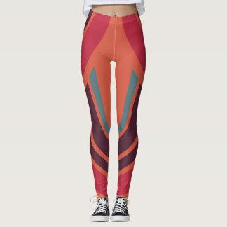 Modelo retro #3 de los años 50 del color leggings