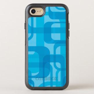 Modelo retro azul de moda funda OtterBox symmetry para iPhone 8/7