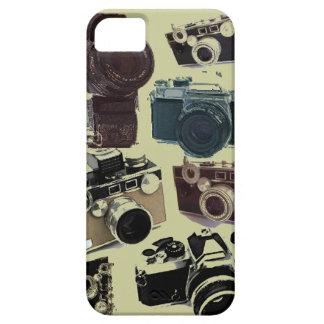 Modelo retro de las cámaras del Grunge del vintage iPhone 5 Funda