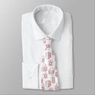 Modelo retro de las cámaras del vintage corbata personalizada