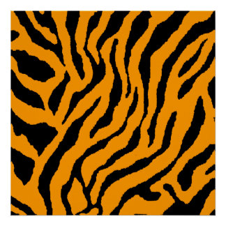 Modelo retro del tigre del tigre 80s de Corey Impresiones