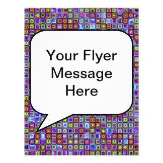 Modelo retro enrrollado púrpura de las tejas de mo tarjeta publicitaria