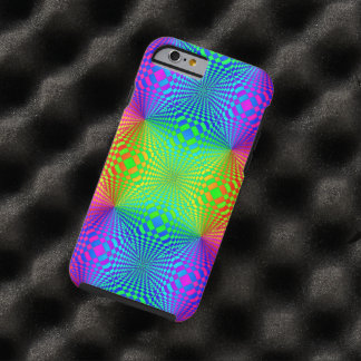 Modelo retro tridimensional maravilloso funda de iPhone 6 tough