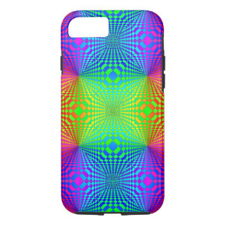 Modelo retro tridimensional maravilloso funda iPhone 7