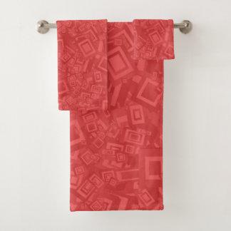 Modelo rojo abstracto contemporáneo moderno