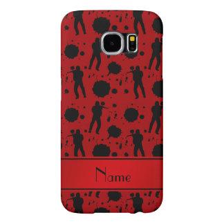 Modelo rojo conocido personalizado de Paintball Funda Samsung Galaxy S6