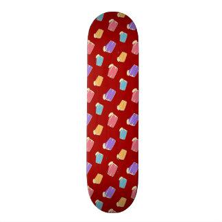 Modelo rojo de la torta patines personalizados