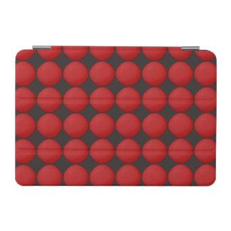Modelo rojo elegante cubierta de iPad mini