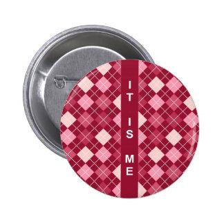 Modelo rojo elegante moderno pin