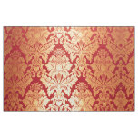 Modelo rojo retro de lujo elegante del damasco del tela