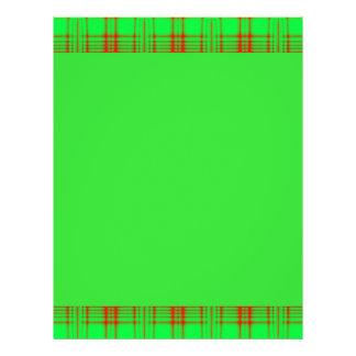 modelo rojo verde folleto 21,6 x 28 cm