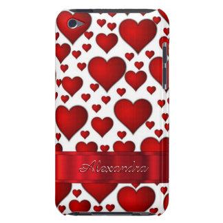 Modelo romántico del corazón personalizado funda Case-Mate para iPod