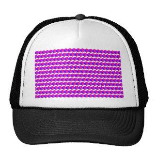 Modelo rosado de los pixeles gorro de camionero