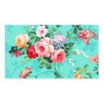Modelo rosado elegante de los rosas amarillos del  plantilla de tarjeta de visita