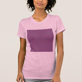 Modelo rosado II de Plaidish Camisetas