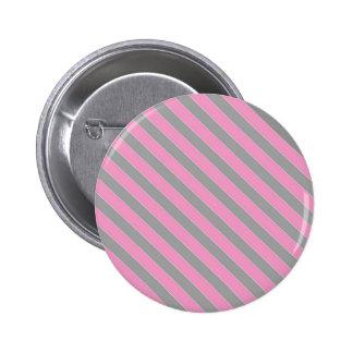 Modelo rosado y gris de las rayas pins