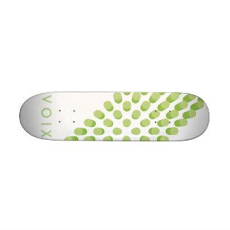 Modelo sintético de las píldoras del verde de tablas de patinar
