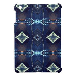 Modelo tribal azul de moda de la cadera fresca