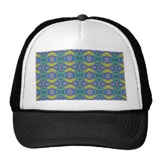 Modelo tribal coloreado multi moderno fresco gorra